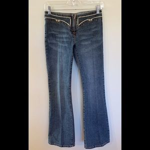 BUFFALO low waisted flare jeans/ Size 26